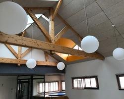 Plafond fibre naturelle Knauf - Saint Nabord - Robin et fils