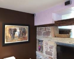 Peinture ressource choco - stuc vénitien mauve - Cheniménil - Robin et fils
